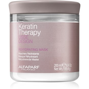 Alfaparf Milano Lisse Design Keratin Therapy masca rehidratanta pentru toate tipurile de pãr imagine produs
