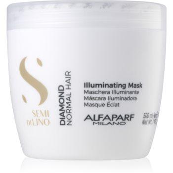 alfaparf milano semi di lino diamond illuminating masca iluminatoare fara sulfati si parabeni