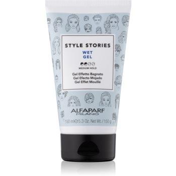 Alfaparf Milano Style Stories The Range Gel gel de par cu efect umed fixare medie