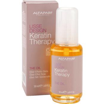 Alfaparf Milano Lisse Design Keratin Therapy ulei hranitor pentru toate tipurile de par 2