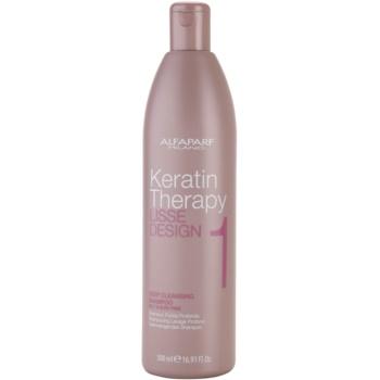 Alfaparf Milano Lisse Design Keratin Therapy curatarea profunda a scalpului pentru toate tipurile de par