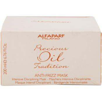 Alfaparf Milano Precious Oil Tradition intenzivna maska za lase proti krepastim lasem 4