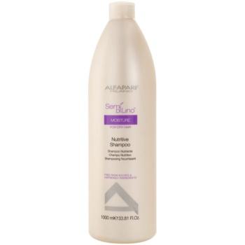 Fotografie Alfaparf Milano Semí Dí Líno Moisture vyživující šampon pro suché vlasy 1000 ml