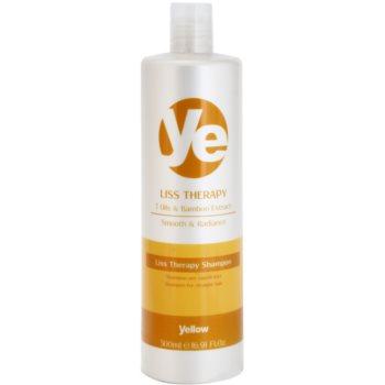 Alfaparf Milano Yellow Liss Therapy šampon za glajenje las za kemično obdelane lase