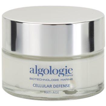 Algologie Cellular Defense регенериращ нощен крем за подхранване и хидратация