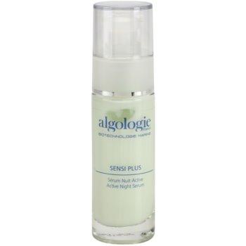 Algologie Sensi Plus serum regenerador de noche para pieles irritadas y sensibles