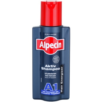 Alpecin Hair Energizer Aktiv Shampoo A1 sampon de activare pentru scalp normal spre uscat  250 ml