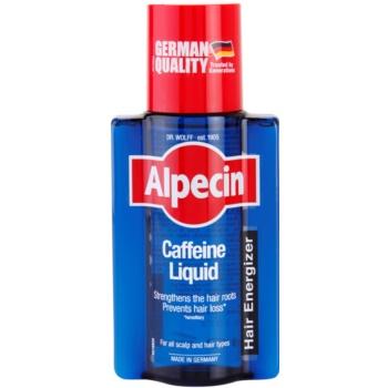 Fotografie Alpecin Hair Energizer Caffeine Liquid kofeinové tonikum proti padání vlasů pro muže 200 ml