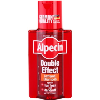 Fotografie Alpecin Double Effect kofeinový šampon pro muže proti lupům a vypadávání vlasů 200 ml