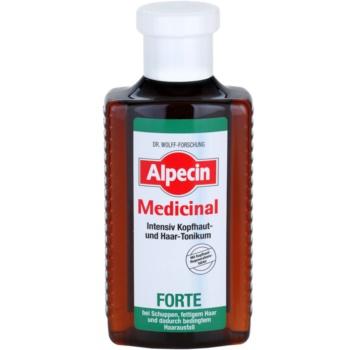 Alpecin Medicinal Forte tonic intens impotriva matretii si caderii parului poza