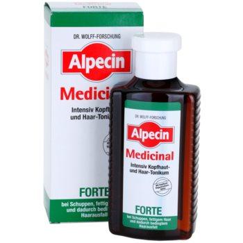 Alpecin Medicinal Forte tonic intens impotriva matretii si caderii parului 2