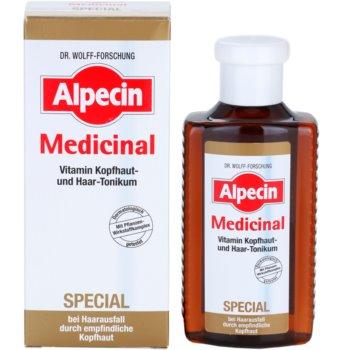 Alpecin Medicinal Special tónico antiqueda capilar para o couro cabeludo sensível 1