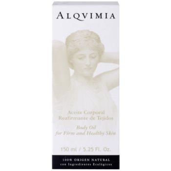 Alqvimia Silhouette festigendes Körperöl für junge und gesunde Haut 2