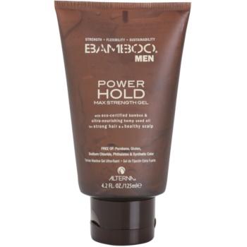 Alterna Bamboo Men гел за коса  екстра силна фиксация
