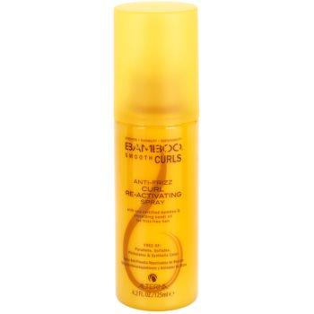 Alterna Bamboo Smooth spray sem enxaguar para cabelo ondulado