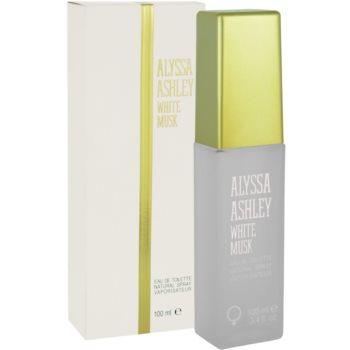 Alyssa Ashley Ashley White Musk eau de toilette pentru femei 100 ml