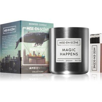 Ambientair Mise-en-Scéne Magic Happens lumânare parfumată