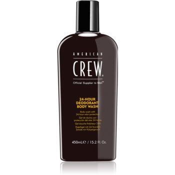 American Crew Hair & Body 24-Hour Deodorant Body Wash Gel de dus cu efect de deodorante 24 de ore poza