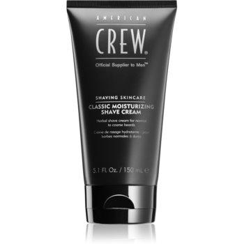 American Crew Shave & Beard Classic Moisturizing Shave Cream Cremă de Ras din plante poza noua