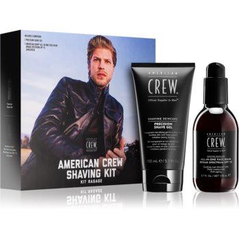 American Crew Shave & Beard Shaving Kit set cosmetice pentru barbati