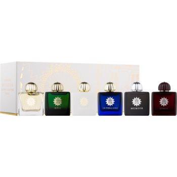 Amouage Miniatures Bottles Collection Women set cadou VI. Lyric, Epic, Memoir, Jubilation 25, Interlude, Beloved Eau de Parfum 6 x 7,5 ml