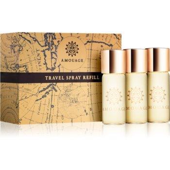Amouage Reflection eau de parfum pentru barbati 3 x 10 ml 3 reincarcari