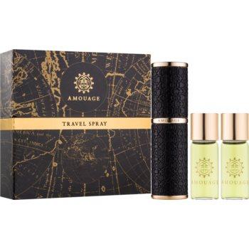 poze cu Amouage Memoir eau de parfum pentru barbati 3 x 10 buc (1x reincarcabil + 2x rezerva)
