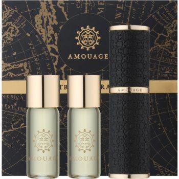 Amouage Epic eau de parfum pentru barbati 3 x 10 ml (1x reincarcabil + 2x rezerva)