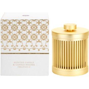 Amouage Jubilation 25 Woman vela perfumado  + suporte