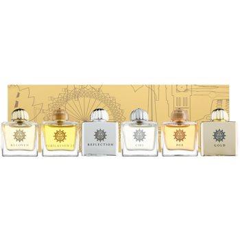 Amouage Miniatures Bottles Collection Women set cadou II. Gold, Dia, Ciel, Reflection, Jubilation 25, Beloved Eau de Parfum 6 x 7,5 ml