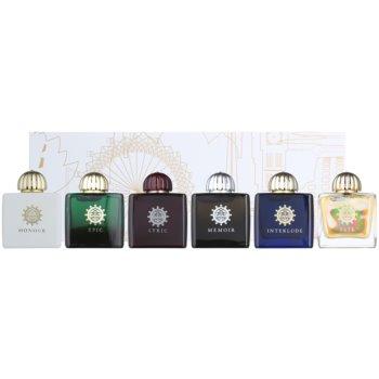 Amouage Epic Woman Miniature Modern Collection Eau de Parfum Lyric Woman 7,5 ml + Eau de Parfum Epic Woman 7,5 ml + Eau de Parfum Memoir Woman 7,5 ml + Eau de Parfum Honour Woman 7,5 ml dárková sada