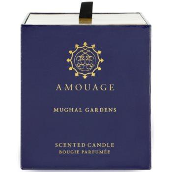 Amouage Mughal Gardens vela perfumado 3