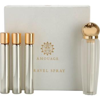 Amouage Reflection Eau De Parfum pentru femei 4 x 10 ml (1x reincarcabil + 3x rezerva)
