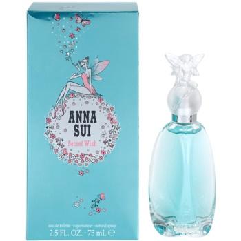 Anna Sui Secret Wish eau de toilette pentru femei 75 ml