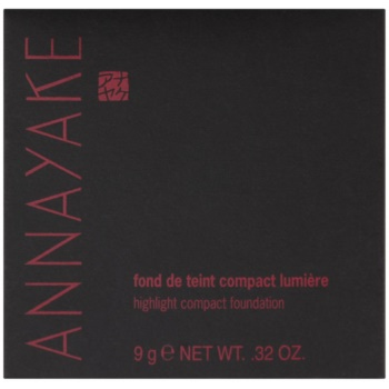 Annayake Face Make-Up озаряващ компактен фон дьо тен 4