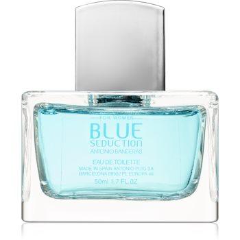 Antonio Banderas Blue Seduction for Her Eau de Toilette pentru femei imagine produs