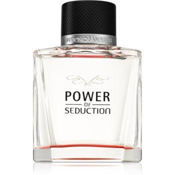 Antonio Banderas Power of Seduction Eau de Toilette pentru bãrba?i imagine produs