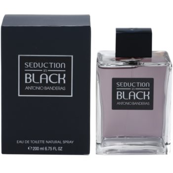 Antonio Banderas Seduction in Black Eau de Toilette pentru barbati 200 ml