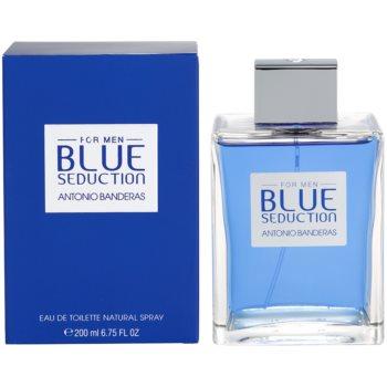 Antonio Banderas Blue Seduction eau de toilette pentru barbati 100 ml
