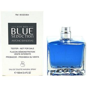 Antonio Banderas Blue Seduction туалетна вода тестер для чоловіків 1
