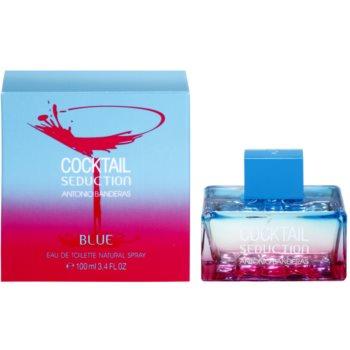 Antonio Banderas Cocktail Seduction Blue toaletní voda pro ženy