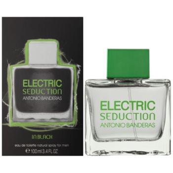Antonio Banderas Electric Seduction In Black eau de toilette pentru barbati 100 ml