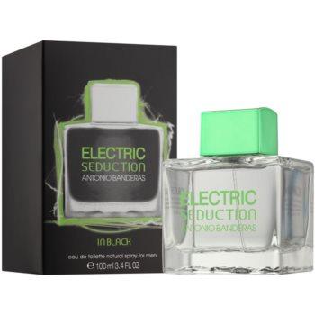 Antonio Banderas Electric Seduction In Black toaletní voda pro muže 1