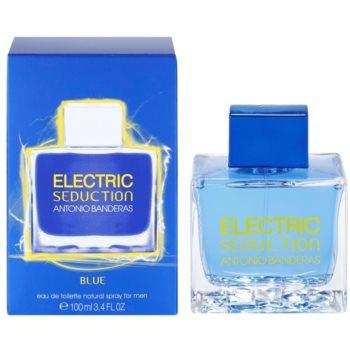 Antonio Banderas Electric Blue Seduction Eau de Toilette for Men