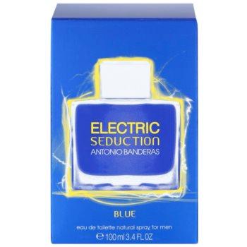 Antonio Banderas Electric Blue Seduction тоалетна вода за мъже 4