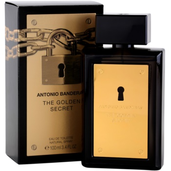 Antonio Banderas The Golden Secret Eau de Toilette para homens 1