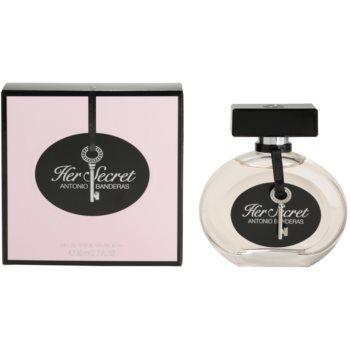 Antonio Banderas Her Secret Eau de Toilette pentru femei 80 ml