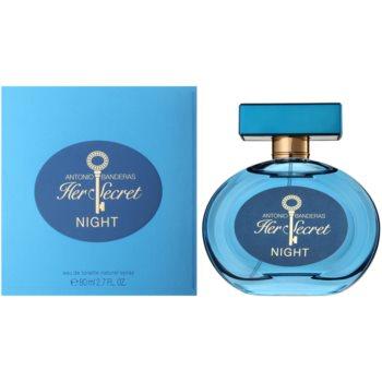 Antonio Banderas Her Secret Night Eau de Toilette pentru femei 80 ml
