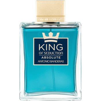 Antonio Banderas King of Seduction Absolute eau de toilette pentru barbati 200 ml