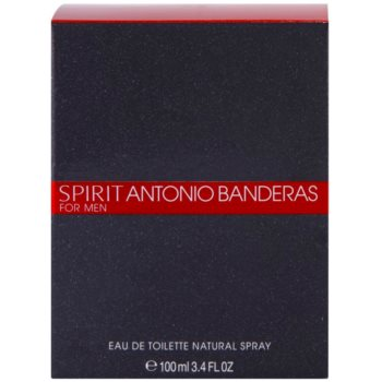 Antonio Banderas Spirit for Men Eau de Toilette für Herren 4